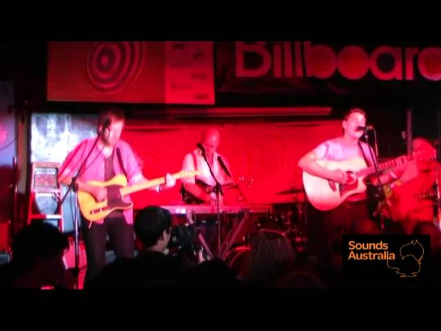 "Boy & Bear ""Feeding Line"" @ Buffalo Billiards - SXSW 2011"