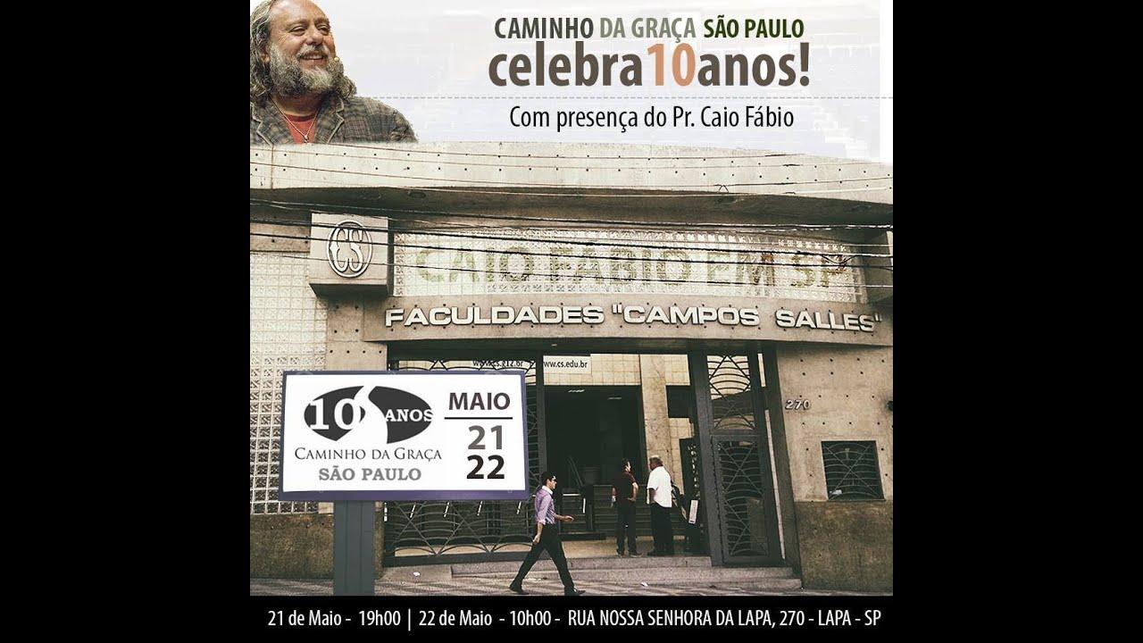 Caio fala da sua ida a São Paulo, para pregar nos dias 21 e 22 de maio. Assista, saiba e divulgue!