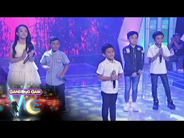 "GGV: TNT Kids Grand finalists perform ""I Don't Wana To Miss A Thing"""