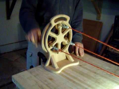 rope making machine plans