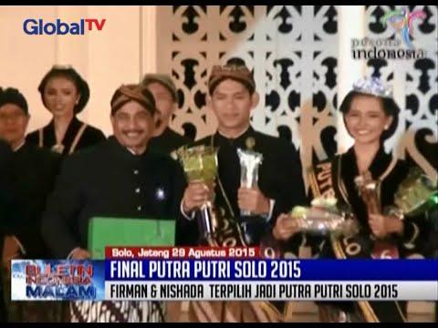 Menpar Arief Yahya Nobatkan Firman Adi & Nishada Warih Sebagai Putra Dan Putri Solo 2015 - BIM 31/08