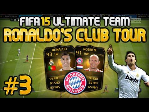 FIFA 15 - Ronaldo's Club Tour #3 - FC Bayern München