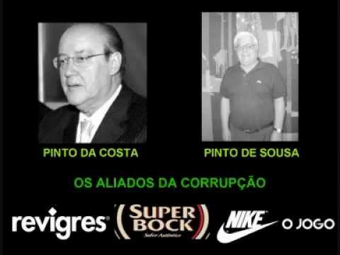 Escutas with Pinto Costa-Pinto Sousa-Gilberto Madail-Valentim-Garrido