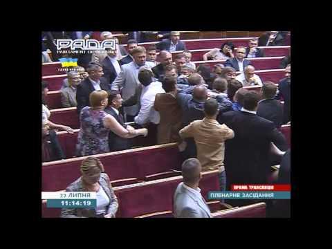 Free Speech Ukraine Ends in Fists. 22 July 2014