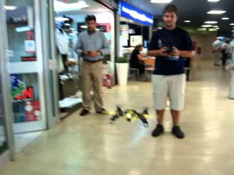 ENTRETEM.COM | Quadrone from NINCO flying at Entretem.com