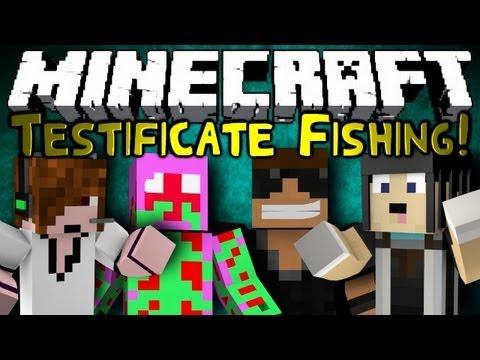 Minecraft: Mini Game: Testificate Fishing!