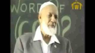 A Hilarious Story by FUNNY Ahmed Deedat…