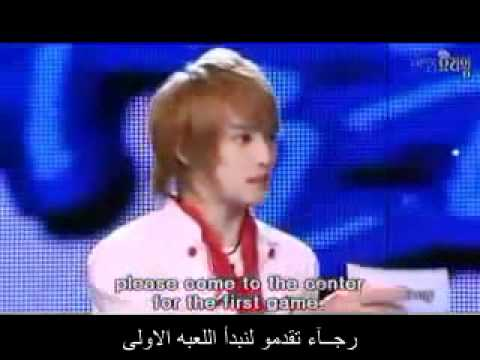 DBSK Cooking Variety Show Part 1 arabic sub.wmv