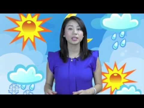 Learn Different Weather in Mandarin Chinese- Learn Chinese with Emma!