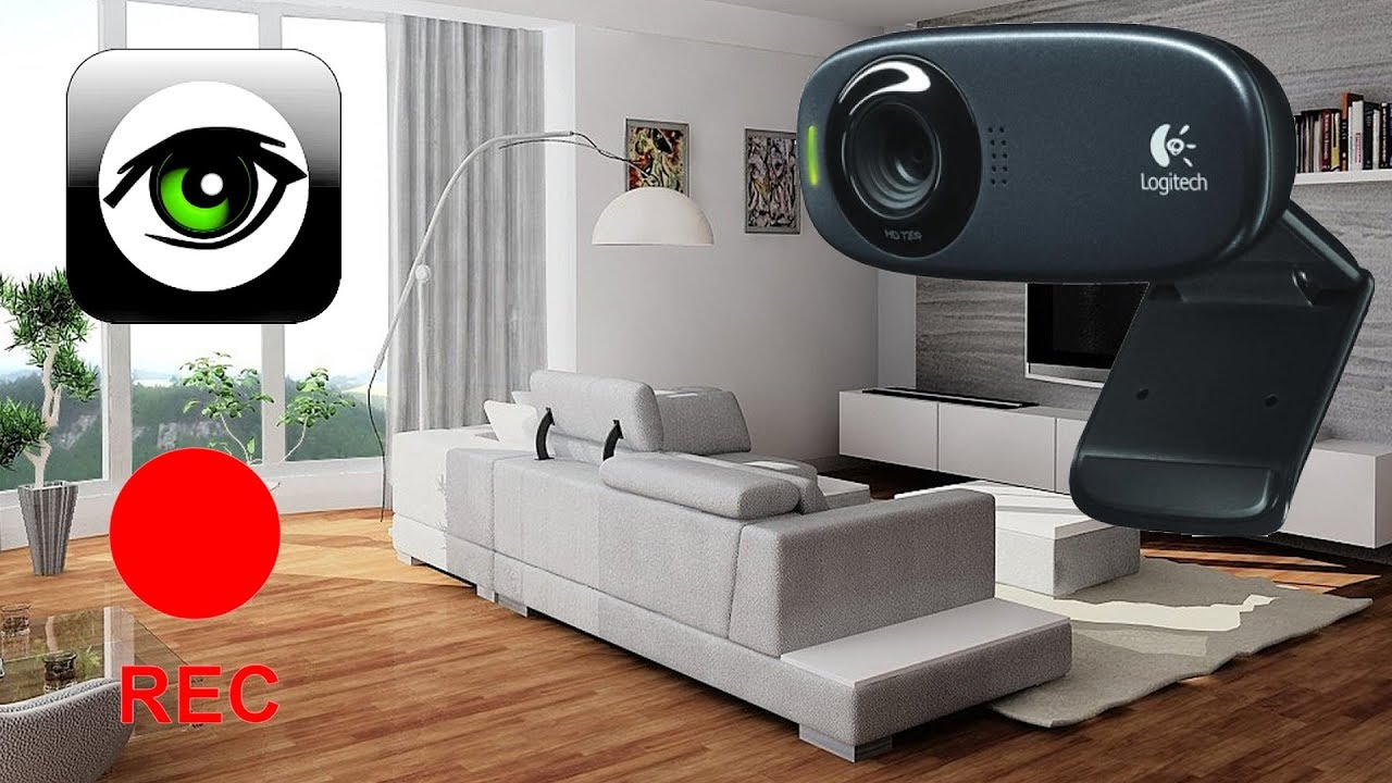 Как сделать камеру видеонаблюдения с помощью веб-камеры 250