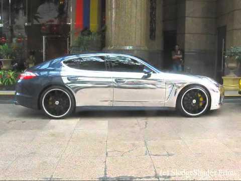 In View Presents Porsche Panamera Turbo Chrome Edition