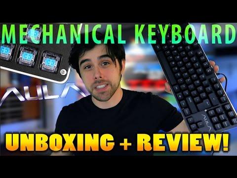 $40 AULA Mechanical Gaming Keyboard Review
