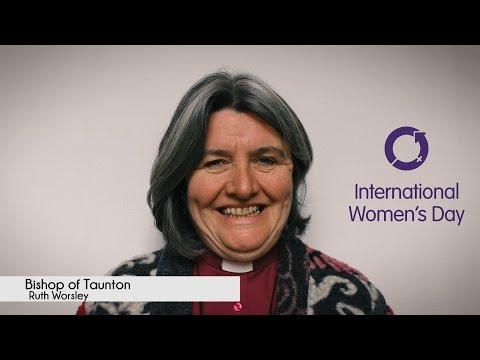 International Women's Day 2016 - Bishop of Taunton Ruth Worsley (#IWD2016)