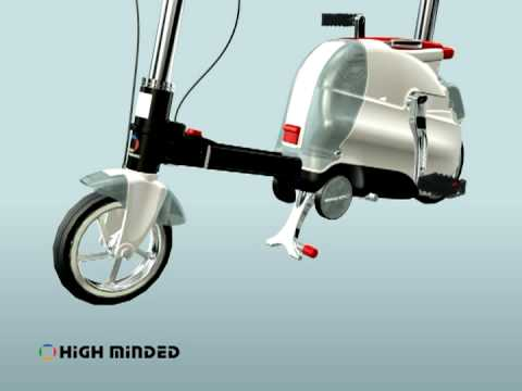 旅行箱式折叠自行车 Carriable Foldaway Bicycle 1.mpeg
