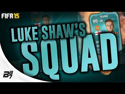 95 PLAYER CARD LUKE SHAW SQUAD TOUR w/ DIEGO COSTA! | FIFA 15 Ultimate Team