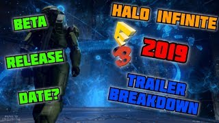 Halo Infinite E3 2019 Trailer Breakdown | BETA Release Date, Friendly Cortana Fragment + MORE!