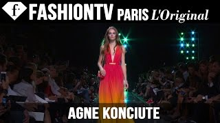 Model Agne Konciute | Beauty Trends for Spring/Summer 2015 | FashionTV