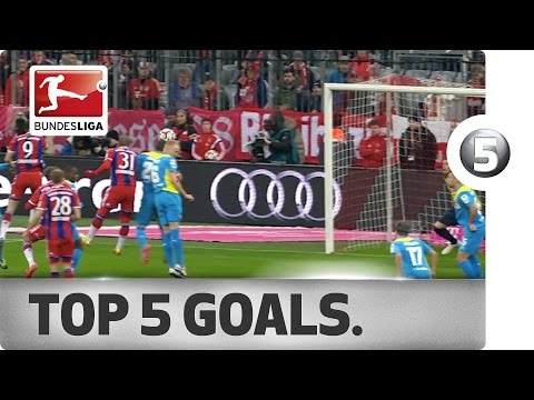 Top 5 Goals from Matchday 23 Vote for your Goal of the Week