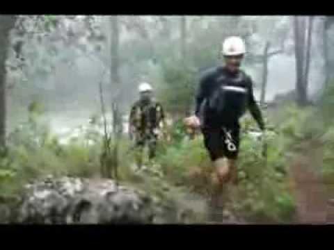Cae la lluvia en el Cañon de Matacanes con Regioaventura
