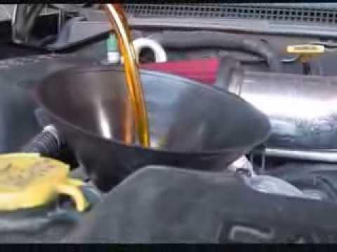 Oil change 2000 Dodge Dakota