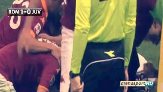 Francesco Totti Fantastic Goal AS Roma 1-0 Juventus HD