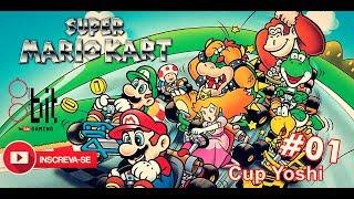 #01 - Super Mario Kart - Super Nintendo