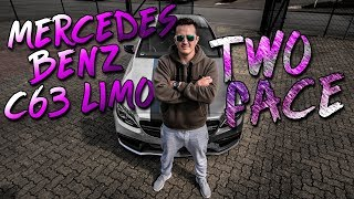 Mercedes C63S AMG Limo |  Two Face Candy Chrome Folierung | SimonMotorSport | #409
