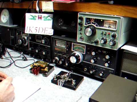 IK5DEZ INORC # 563 QSO in telegrafia con QRP SHIMIZU SS-105S