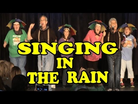 Singing in the Rain (Kids Version) Children's Song by The Learning Station