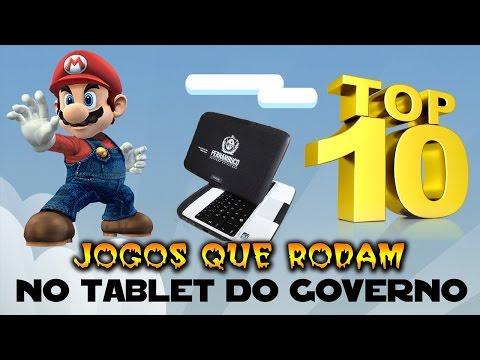 TOP 10 !!! Jogos que rodam no Tablet PC do governo.