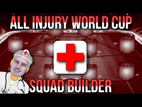 2 MILLI ALL INJURY WORLD CUP SQUAD BUILDER | FIFA 14 ULTIMATE TEAM