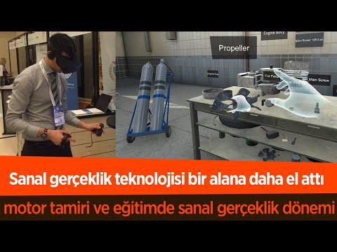 Sanal gerçeklik teknolojisi ile teknik personel eğitimleri gerçekleştirilebilecek