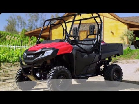 2014 Honda Pioneer 700 Review Of Features Side By Side MUV UTV - Honda
