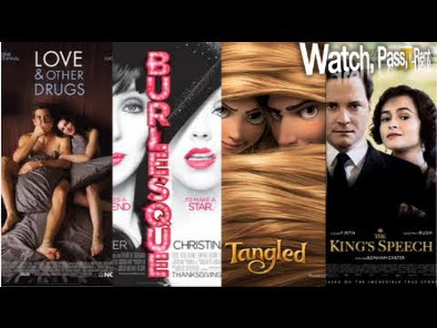 Love and Other Drugs, Burlesque, Tangled & The King's Speech Movie Review