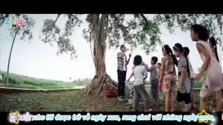 [Lyrics+kara] Cho tôi xin một vé đi tuổi thơ - Lynk Lee