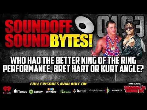 Better KOTR Performance - Bret Hart ('93) Or Kurt Angle ('01)?