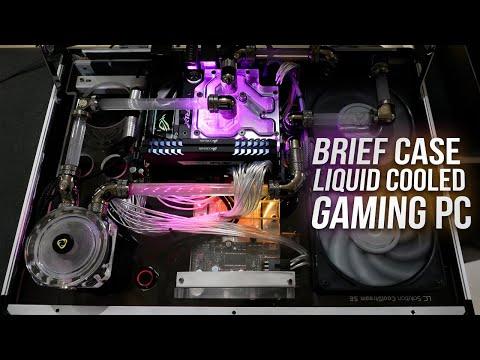 Brief Case Liquid Cooled Gaming PC
