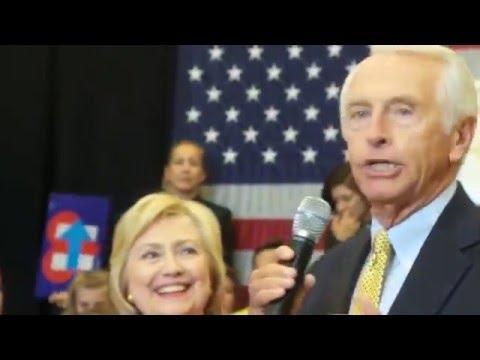 HIllary Clinton Rally/ Gov Steve Beshear Lexington May 2016