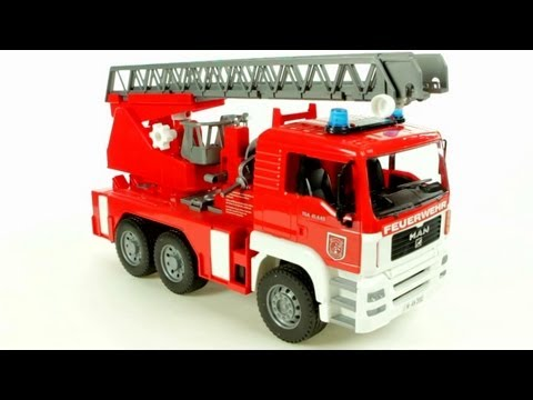 Bruder MB Sprinter Fire Engine  (Bruder 02771) - Muffin Songs' Toy Review