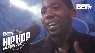 YFN Lucci Instabooth Freestyle | BET Hip Hop Awards 2017