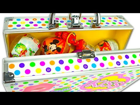 Сюрпризы и игрушки из популярных мультиков для детей