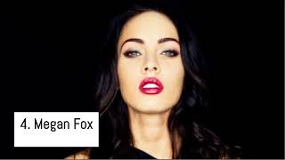 Top 10 Hottest Female Celebrities in The World 2018.