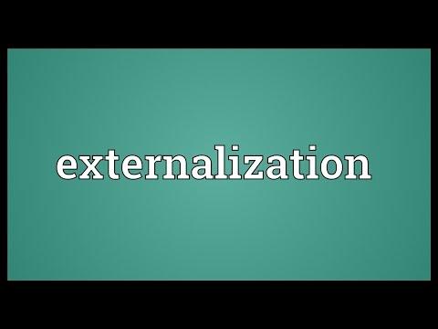 Header of externalization