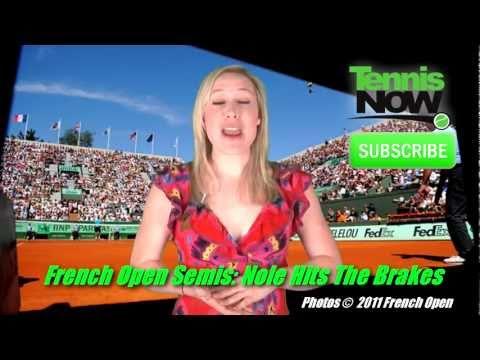Nadal & Federer Win French Open Semis, Djoker Streak Ends, Women's Doubles Title, Masha Sick