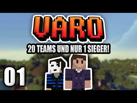 Minecraft VARO #01 | Team Zombey und GermanLetsPlay !