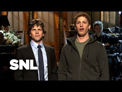 Jesse Eisenberg Monologue - Saturday Night Live