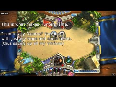 Hearthstone - Hunter Is Fucked Up (unlesh The Hounds) video