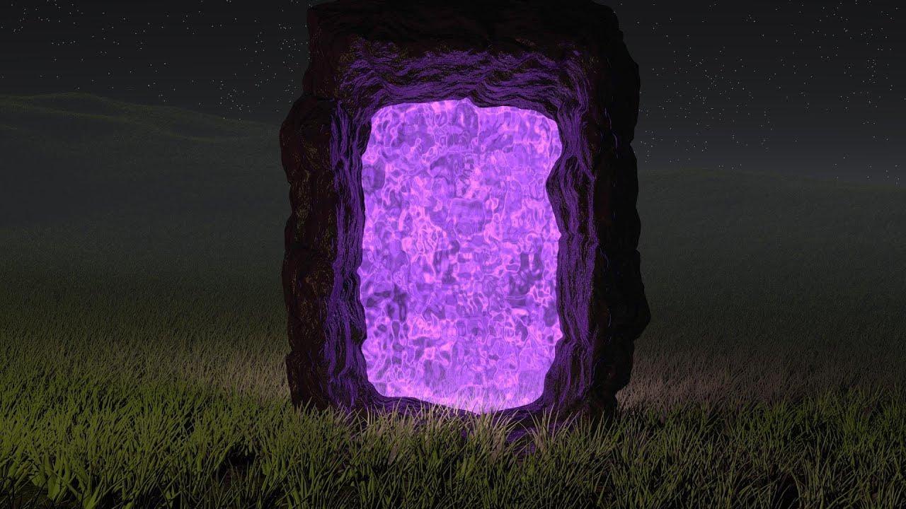 Как сделать из адского камня портал