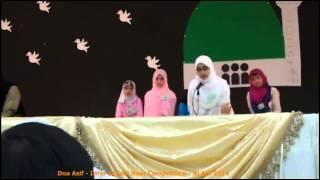 Doa Asif   Inter School Naat Competition   Al Ain 2014   Scene 0