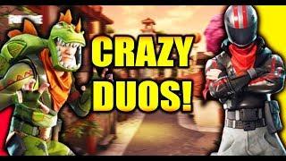 CIZZORZ & DAKOTAZ CRAZY DUOS GAME!!! (Fortnite Battle Royale Duos Gameplay)